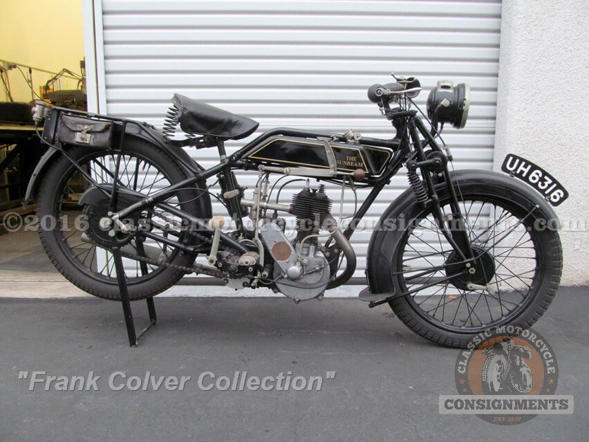 1927 Sunbeam Motorcycle – Colver Col
