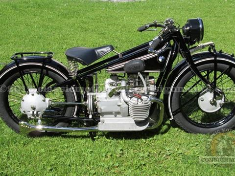 1929 BMW R 62 Motorcycle