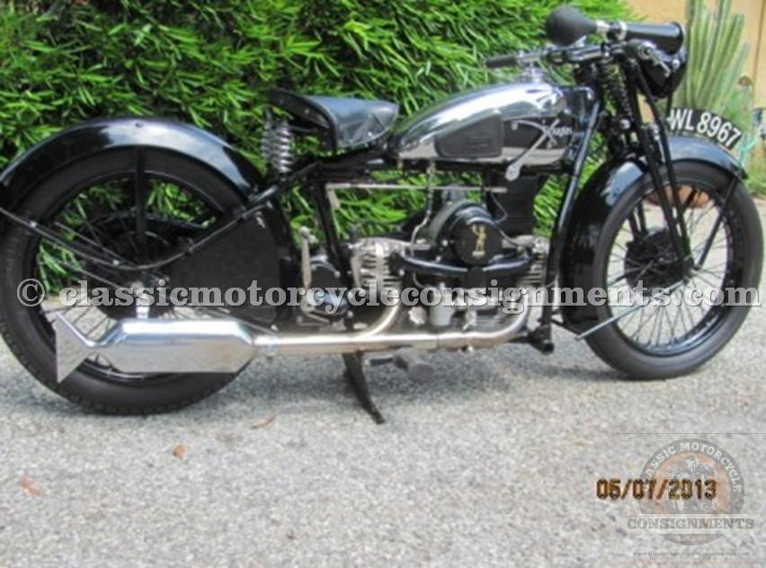 1930 Douglass S 600 Motorcycle, Prewar English Motorcycle