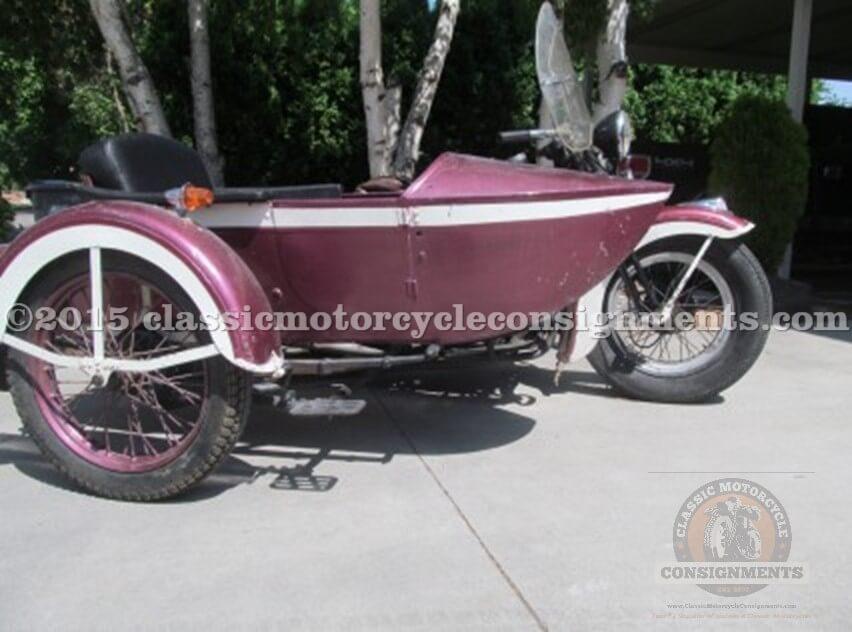 1935 Harley Davidson VLD Motorcycle Harley Davidson 1935 LT Sidecar