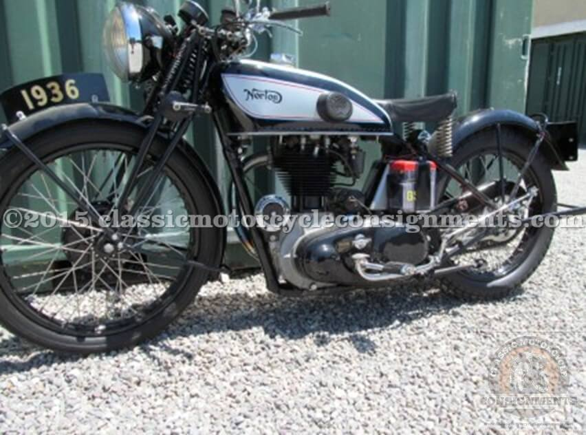 1936 Norton International Motorcycle – Sucher Collection
