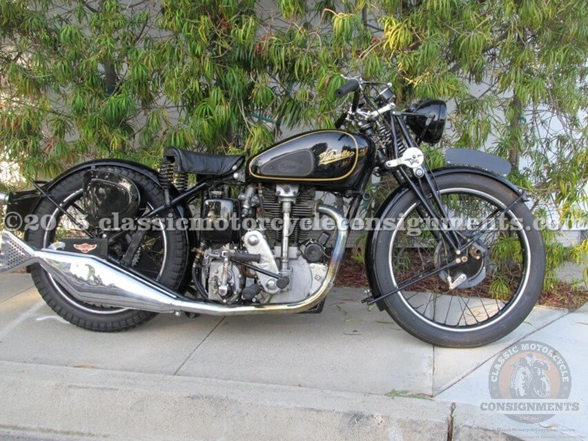 1936 Velocette KSS – Harry V Sucher – Restored