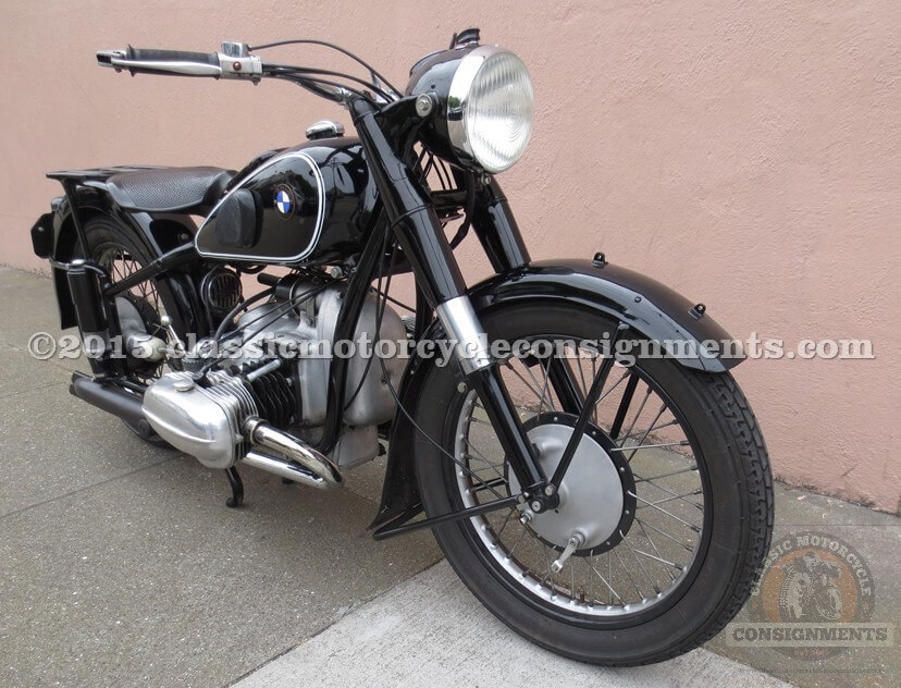 1938 BMW R-66 Motorcycle