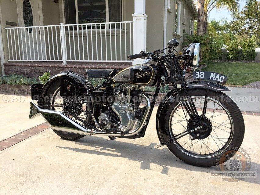 1938 Velocette 350 MAC Motorcycle