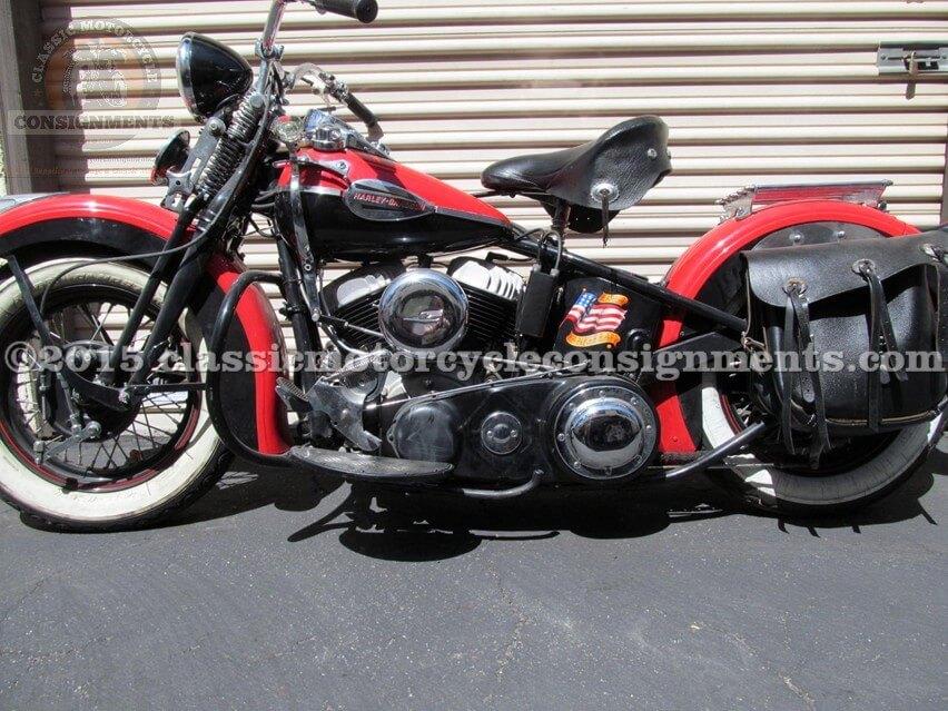 1942 Harley Davidson U Model Motorcycle