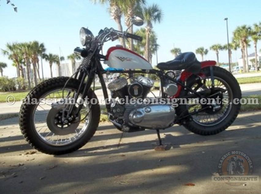 1942 Harley Davidson Motorcycle Street Tracker/Bobber