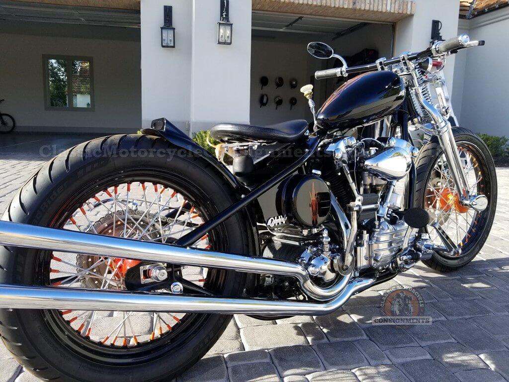 """1946 Harley Davidson EL """"Knucklehead"""" Bobber $$ SOLD!!! $$"""