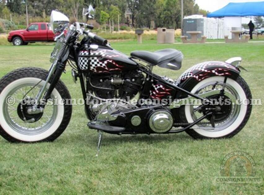 1946 Harley Davidson FL Knucklehead Bobber