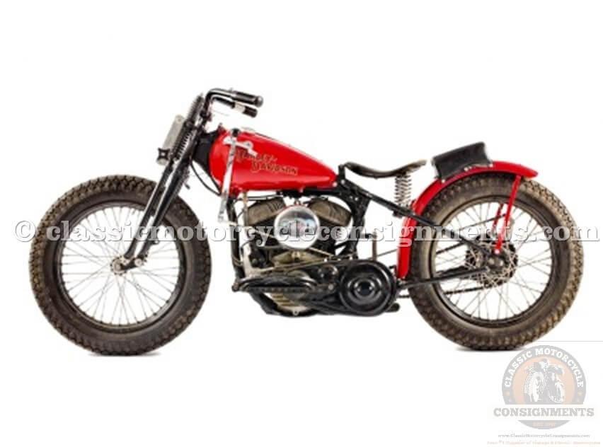 1946 Harley Davidson WR Factory Racer Vintage
