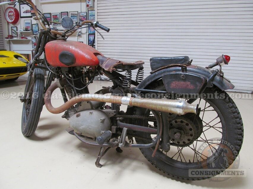 1946 Standard 350 Motorcycle – Knapp Estate