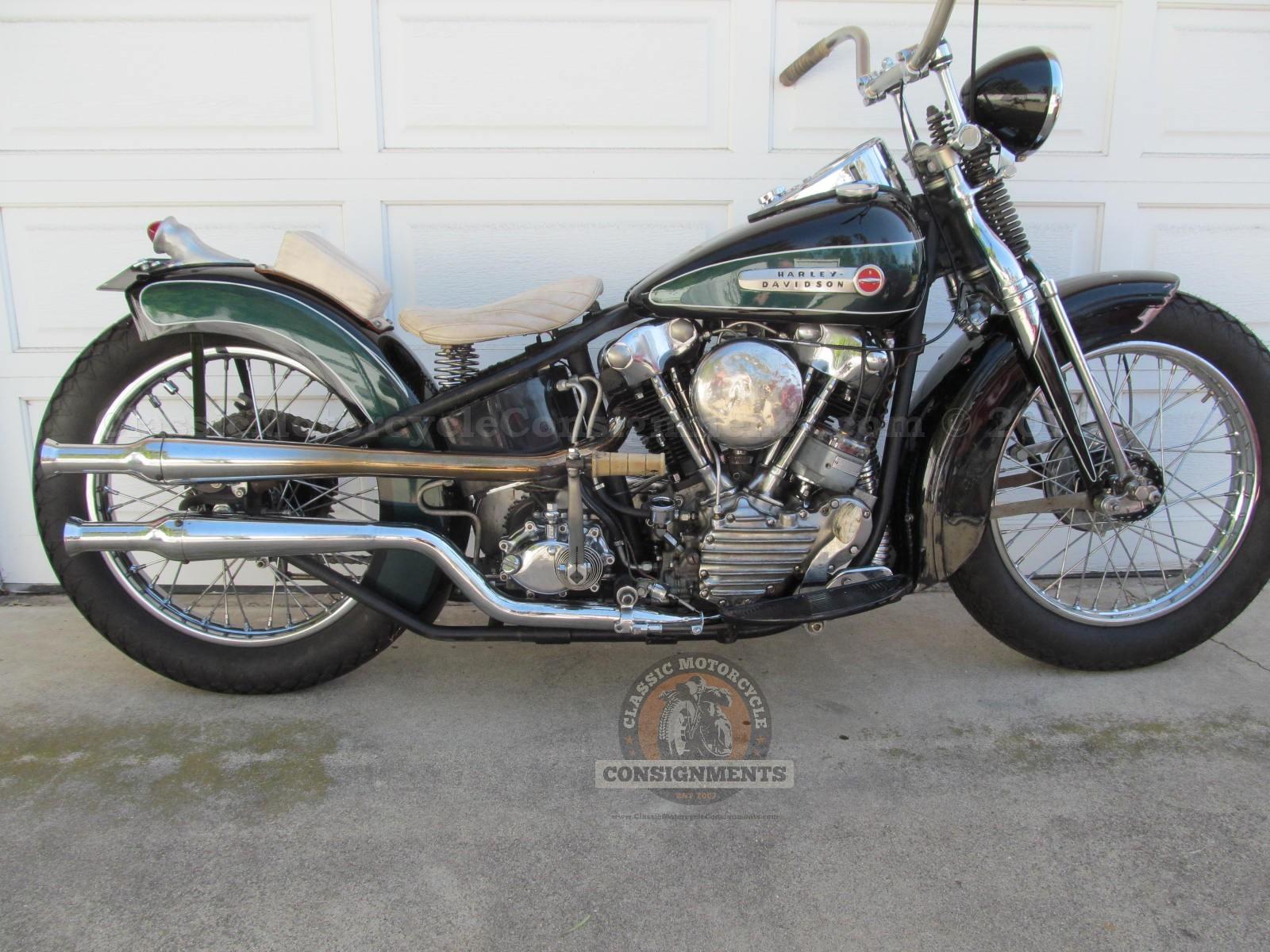 1947 Harley Davidson EL Bobber Knucklehead SOLD!