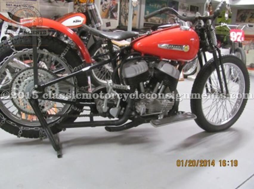 1950 Harley WR Race Bike Original Restored Hill Climber