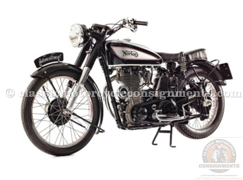 1950 Norton International Motorcycle Manx