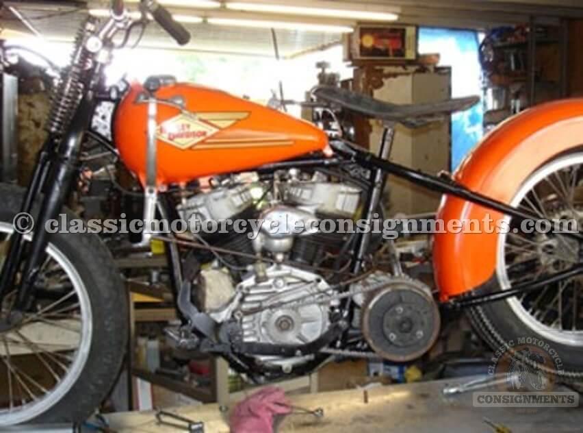 1950′s Harley-Davidson WR Racer