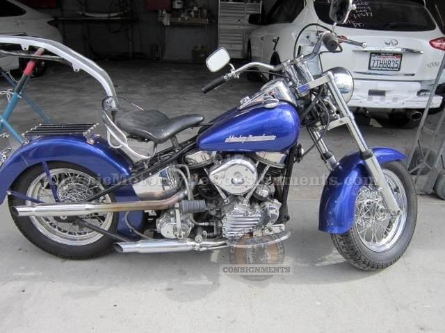 1952 Harley Davidson EL Panhead Motorcycle