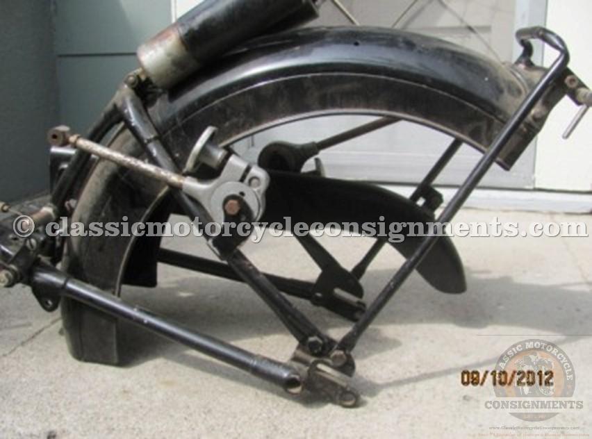 1952 Vincent Rapide Motorcycle Parts Bike