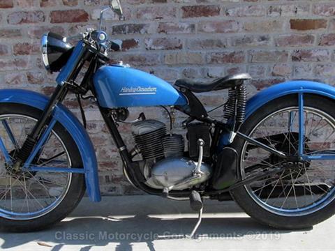 1953 Harley Davidson — Scat 165 Hummer — SOLD!