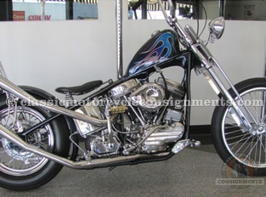 1953 Harley-Davidson Panhead Chopper Bobber
