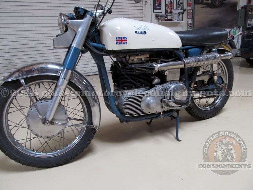1953 Norton Ariel Motorcycle – Knapp Estate