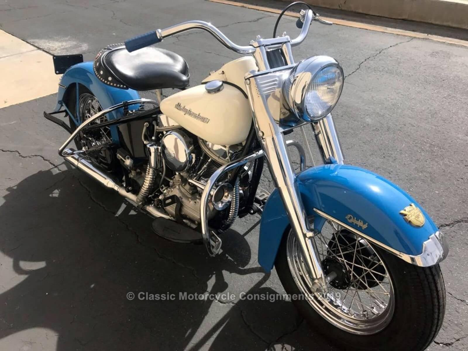 1954 Harley Davidson FLE – 50th Anniversary Model