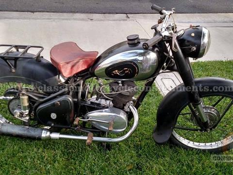 1954 Peugeot 175 Motorcycle