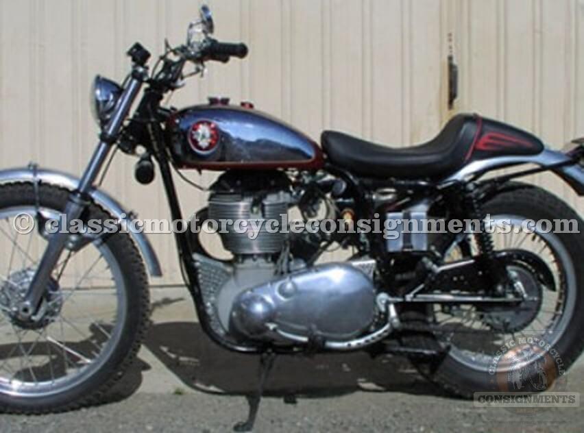 1955 BSA Goldstar – 500cc Scrambler