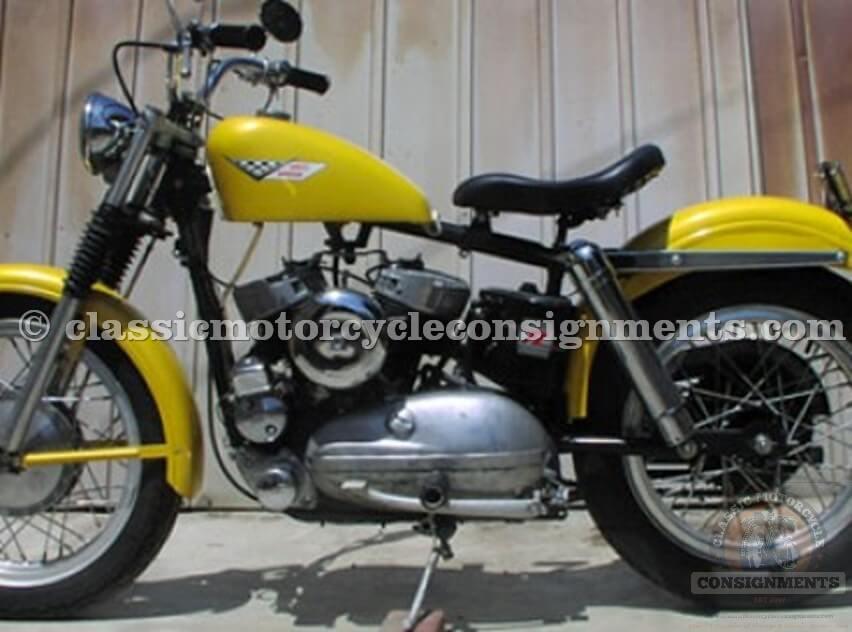 1956 Harley-Davidson KHK Bobber