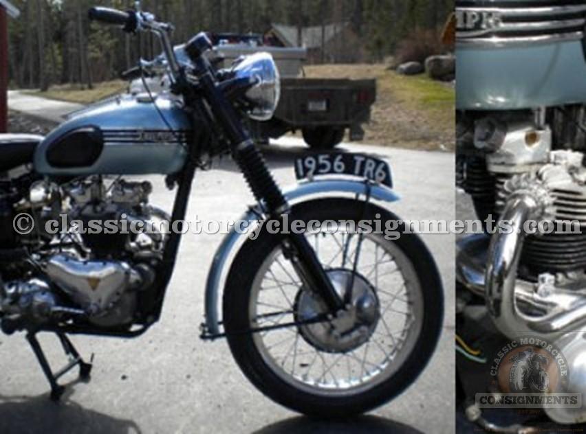 1956 Triumph TR6 Trophy