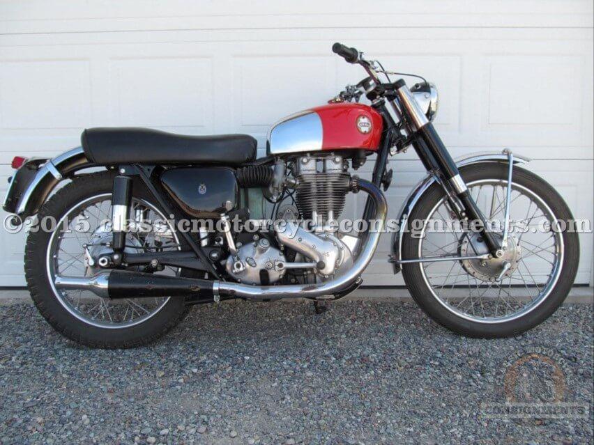1957 Ariel HS 500 Motorcycle