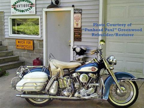 1959 Harley Davidson FLHF DuoGlide Panhead
