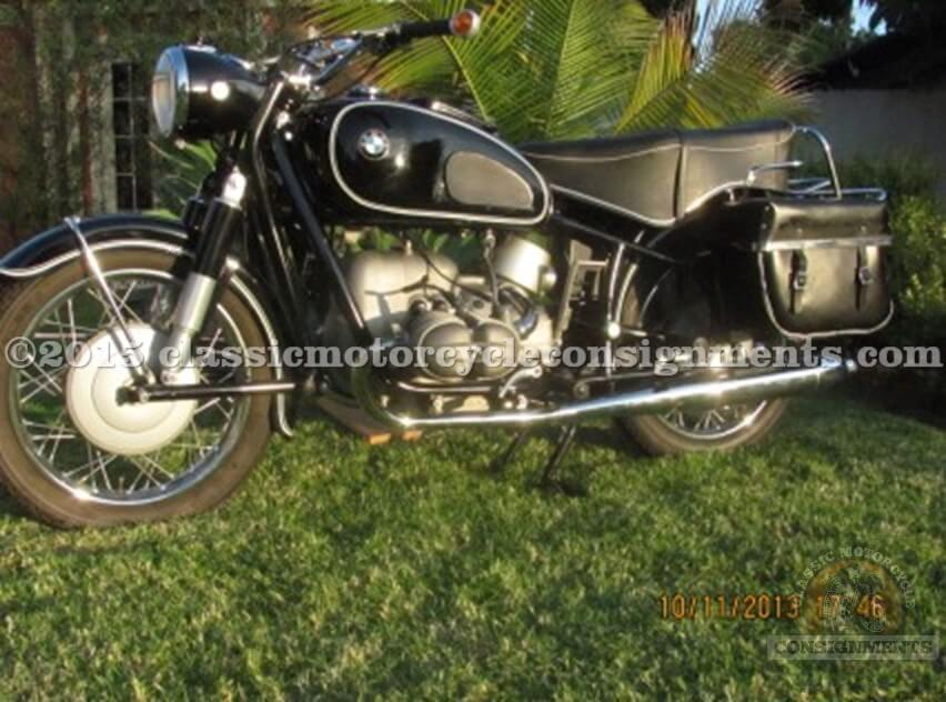 1964 BMW R 69 S Motorcycle – ALL ORIGINAL – Original Paint