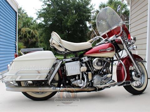 1965 Harley Davidson FLH Panhead Electra Glide – SOLD