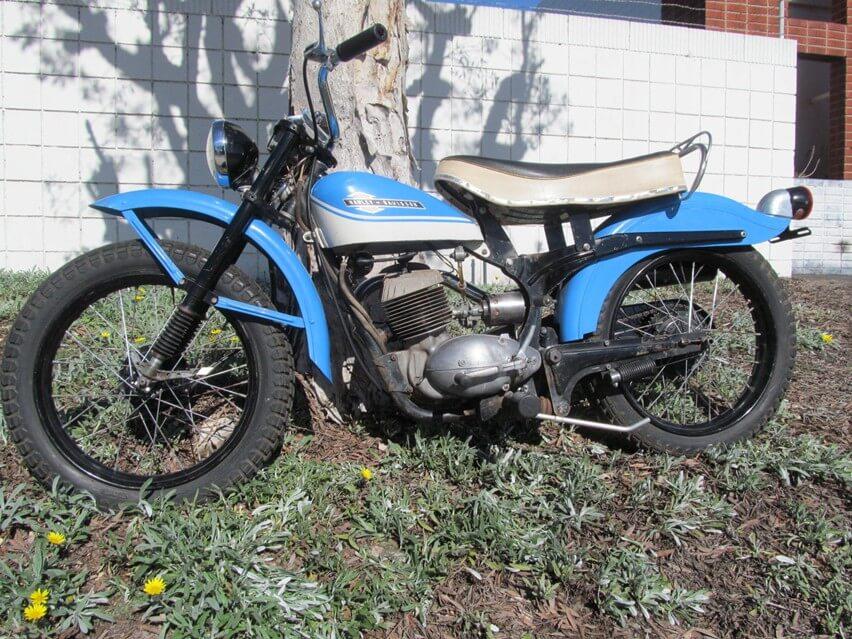 1965 Harley Davidson BTH Scat 175cc