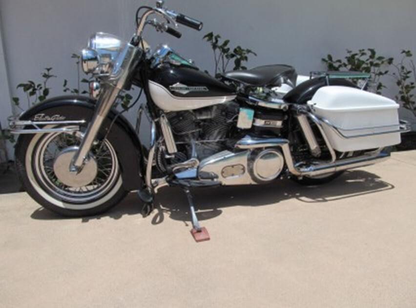 1965 Harley Davidson FLH Panhead Electric 12 Volt