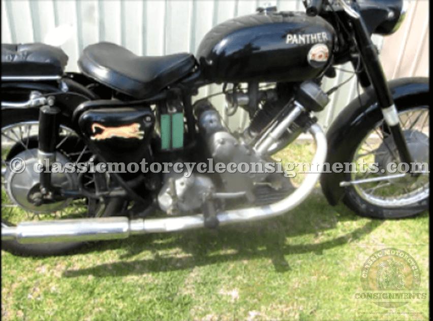1965 Panther – Model 120 Phelon & Moore British Motorcycle
