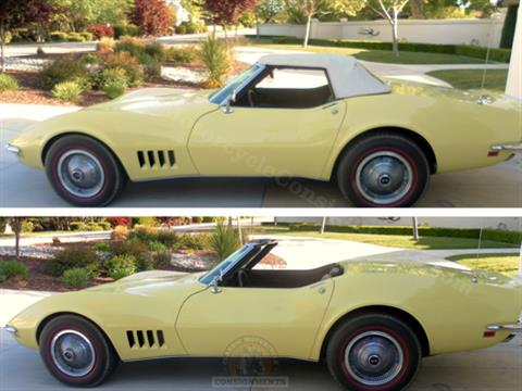 1968 Corvette Hardtop Convertible