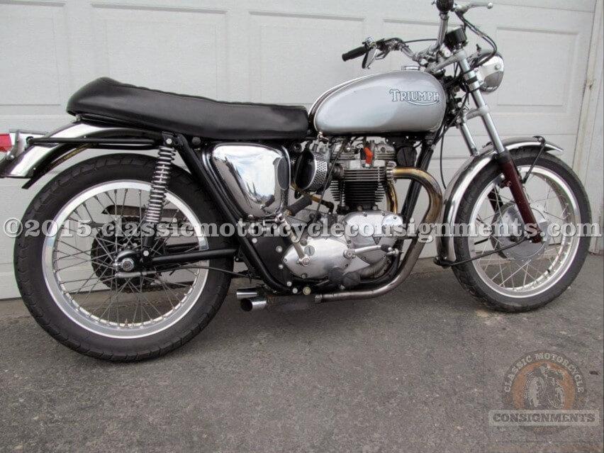 1969 Triumph TR6R Motorcycle