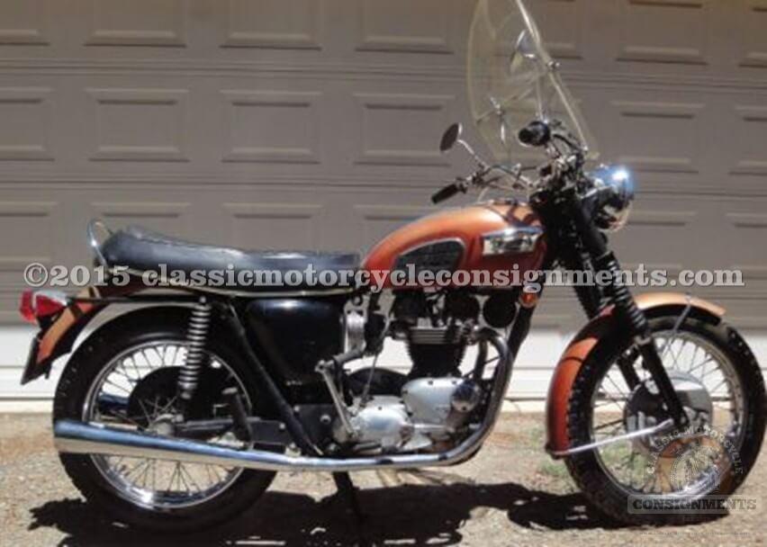 1969 Triumph 650 Tiger – SOLD