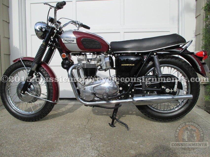 1970 Steve McQueen – Bud Ekins -Triumph Bonneville Motorcycle