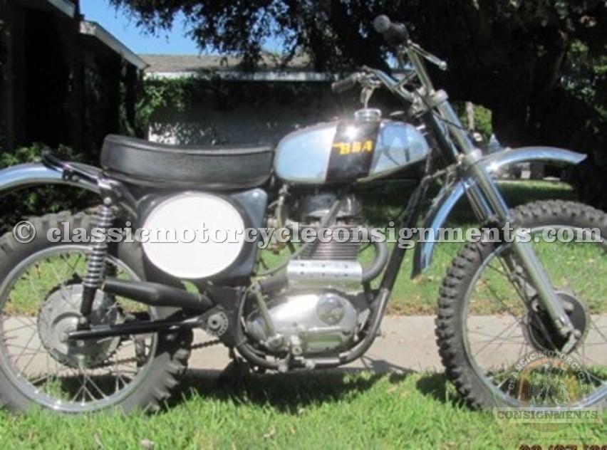 1972 BSA B 50 MX