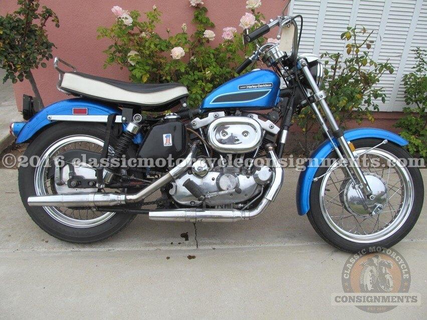 1972 Harley Davidson XLH 1000 cc Sportster