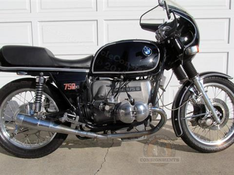1975 BMW R 75-6 Motorcycle