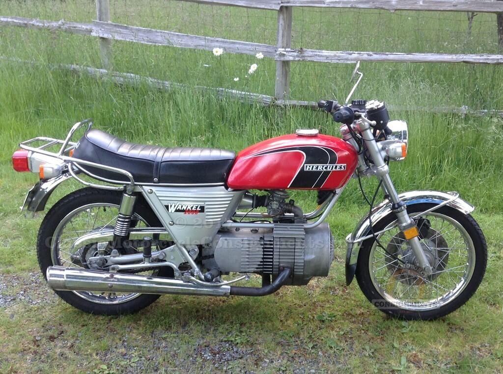 1975 Hercules W2000 Wankel/Sachs Motorcycle