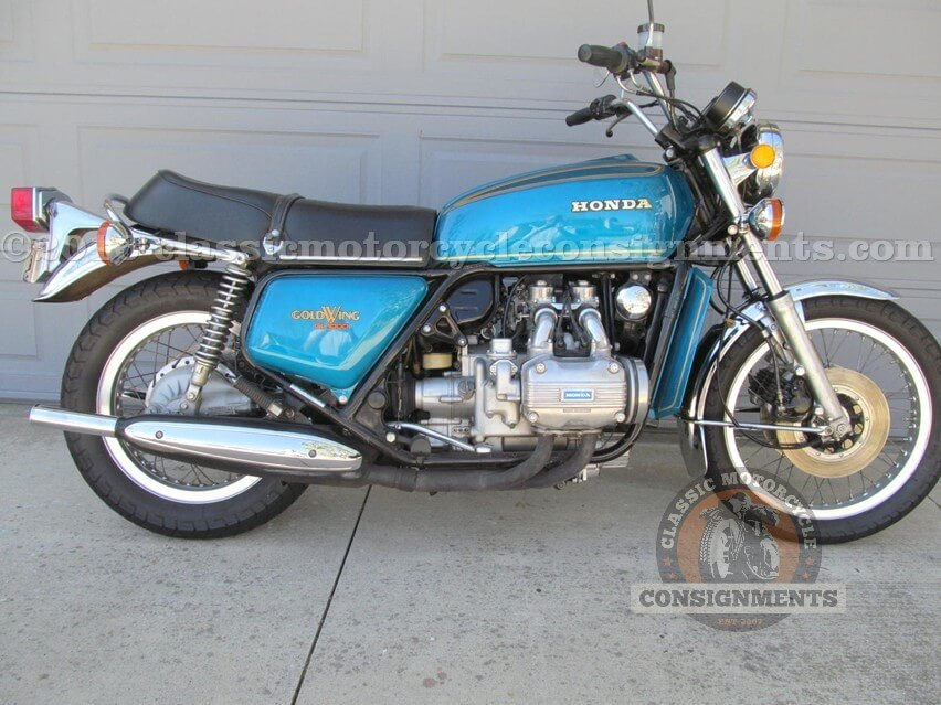 1975 Honda GL 1000 Gold Wing Motorcycle