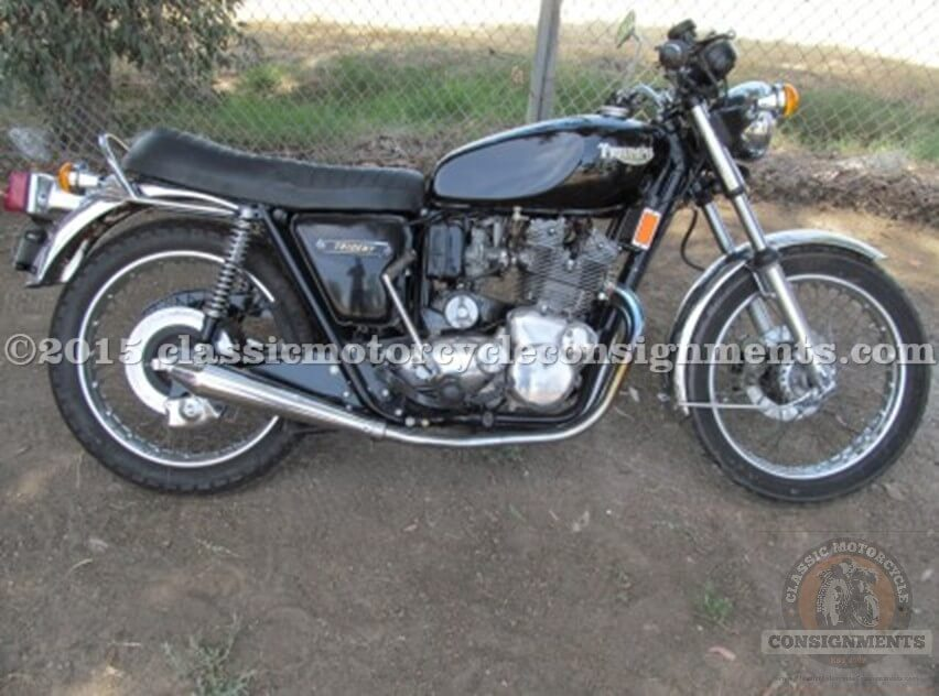 1975 Triumph Trident Motorcycle T 160 – Electric Start 5-Speed