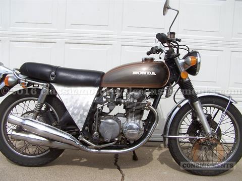 1976 Honda CB 550 Motorcycle
