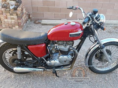 1976 Triumph T 140 V Bonneville Motorcycle
