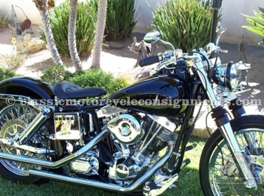 1979 Harley Davidson Shovel Bobber Motorcycle