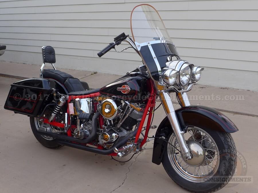 1981 Harley Davidson FLH Shovelhead Motorcycle