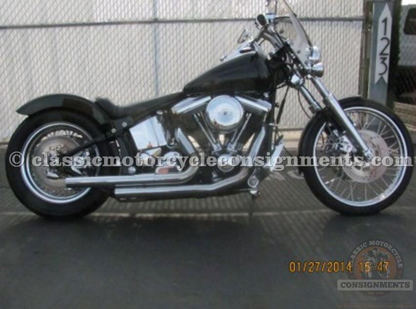 1989 Harley Davidson Bobber FXST C Custom Bobber, Custom Motorcycle